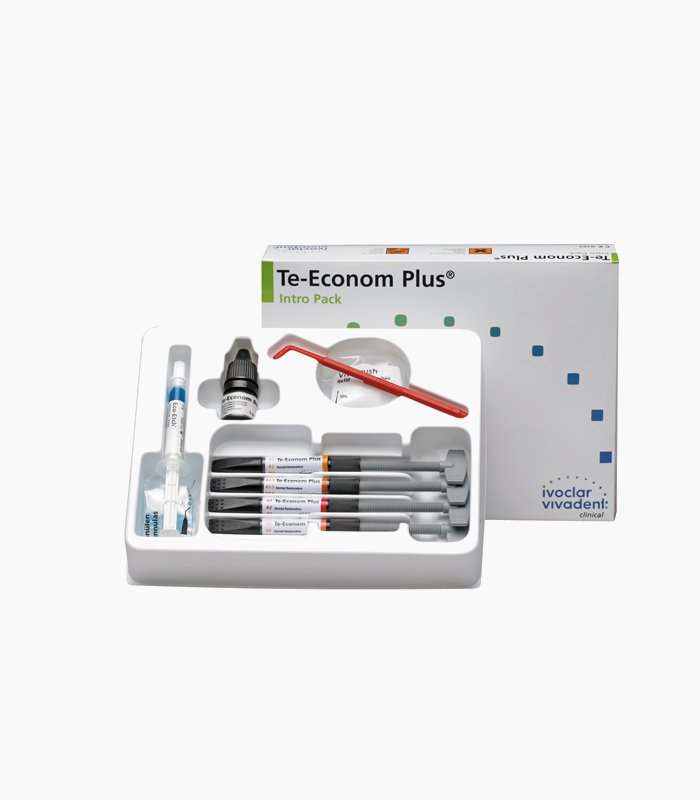 Te-Econom Plus от Ivoclar - набор 4 шприца
